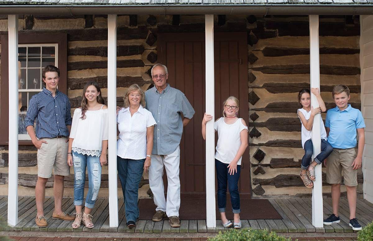 Nick, Paige, Grammy Pammy, Grandpa Ken, Maddie, Drew, Alexa.
