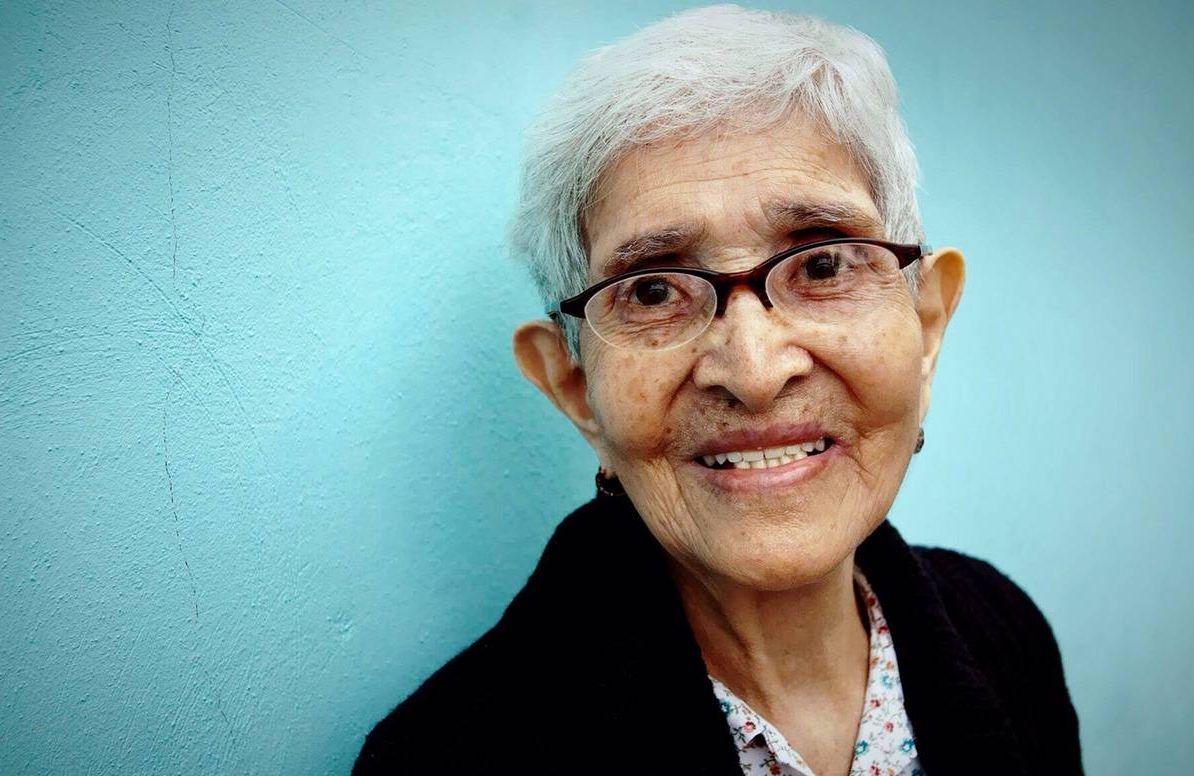 older latinx woman
