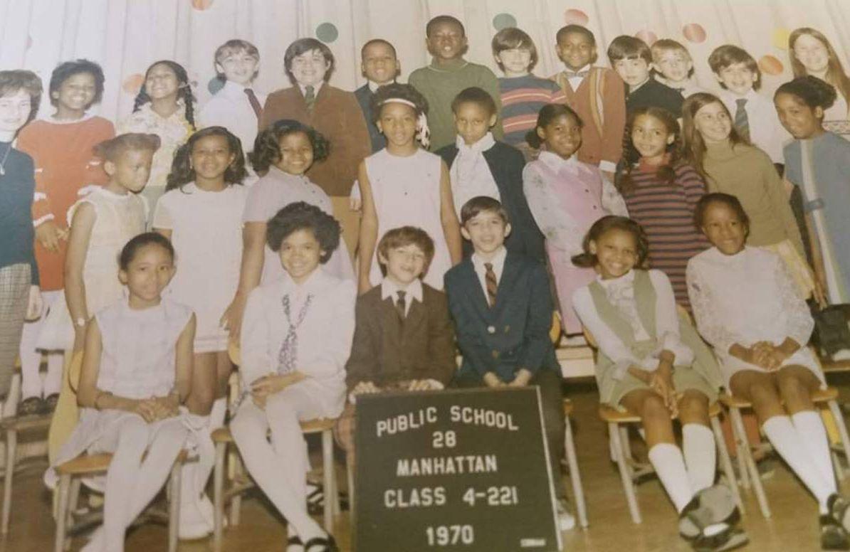 Leslie's fourth grade class.