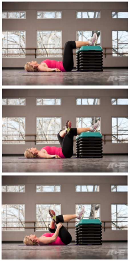 The supine piriformis stretch