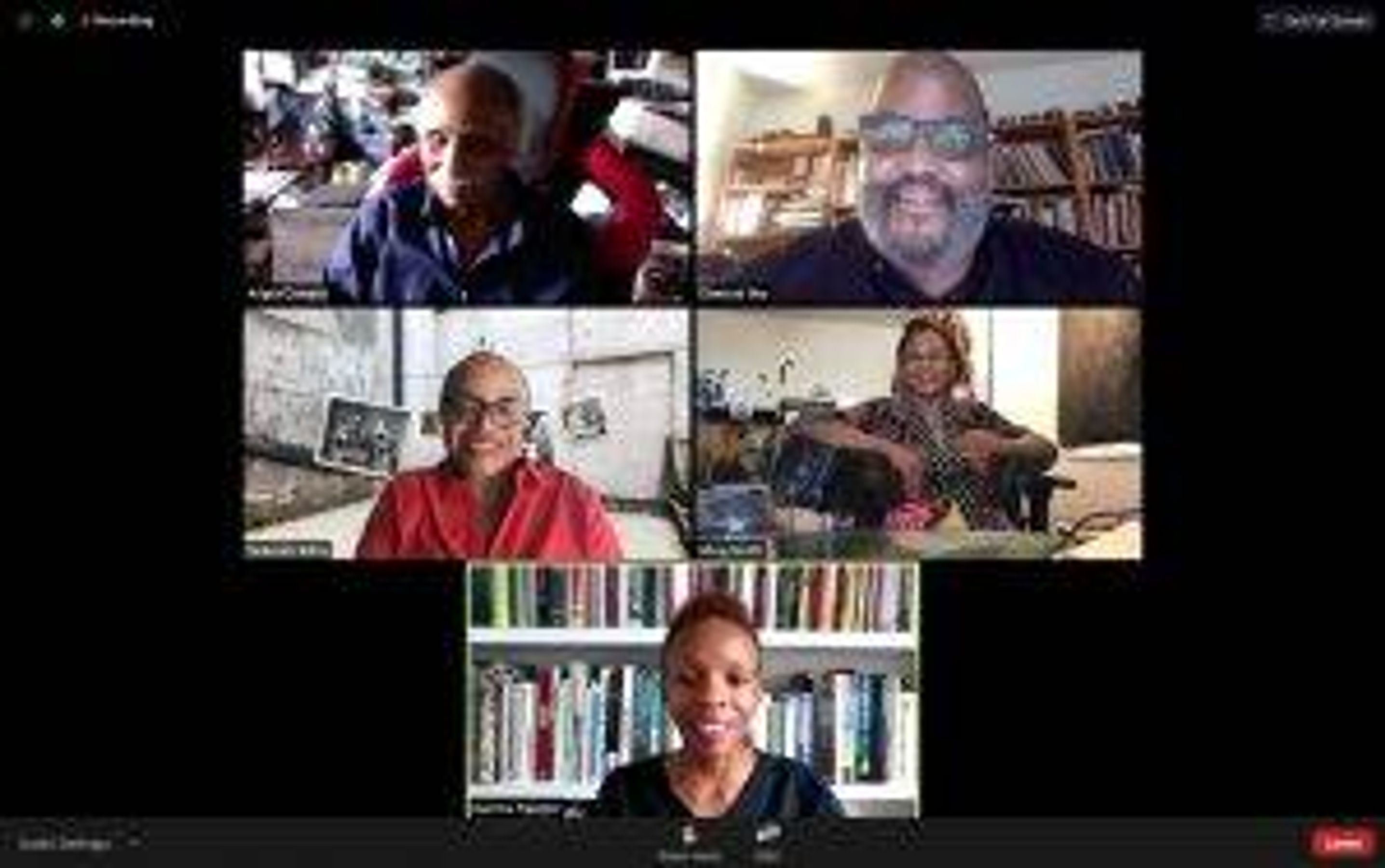 """Soul of a Nation virtual panel discussion """"Black Art through the Lens"""" with MFAH associate curator Kanitra Fletcher and artists Dawoud Bey, Adger Cowans, and Ming Smith"""
