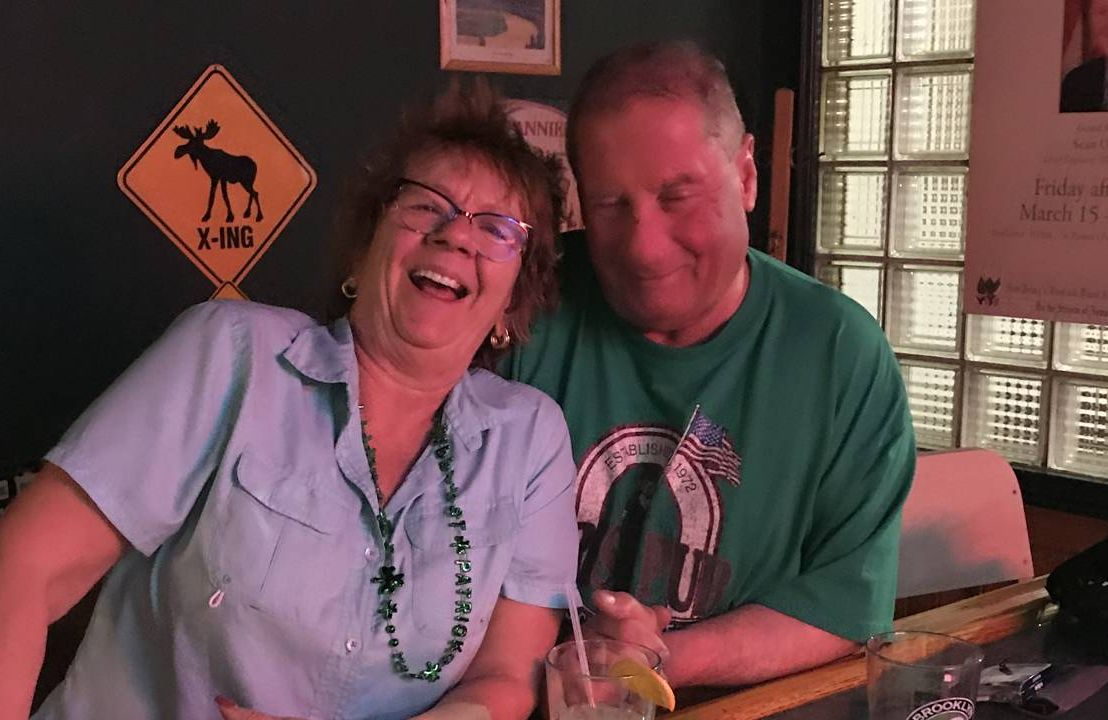 Marianne Downer and husband Joe whose bar's employees received $500 grants from SaverLife, COVID relief, Next Avenue