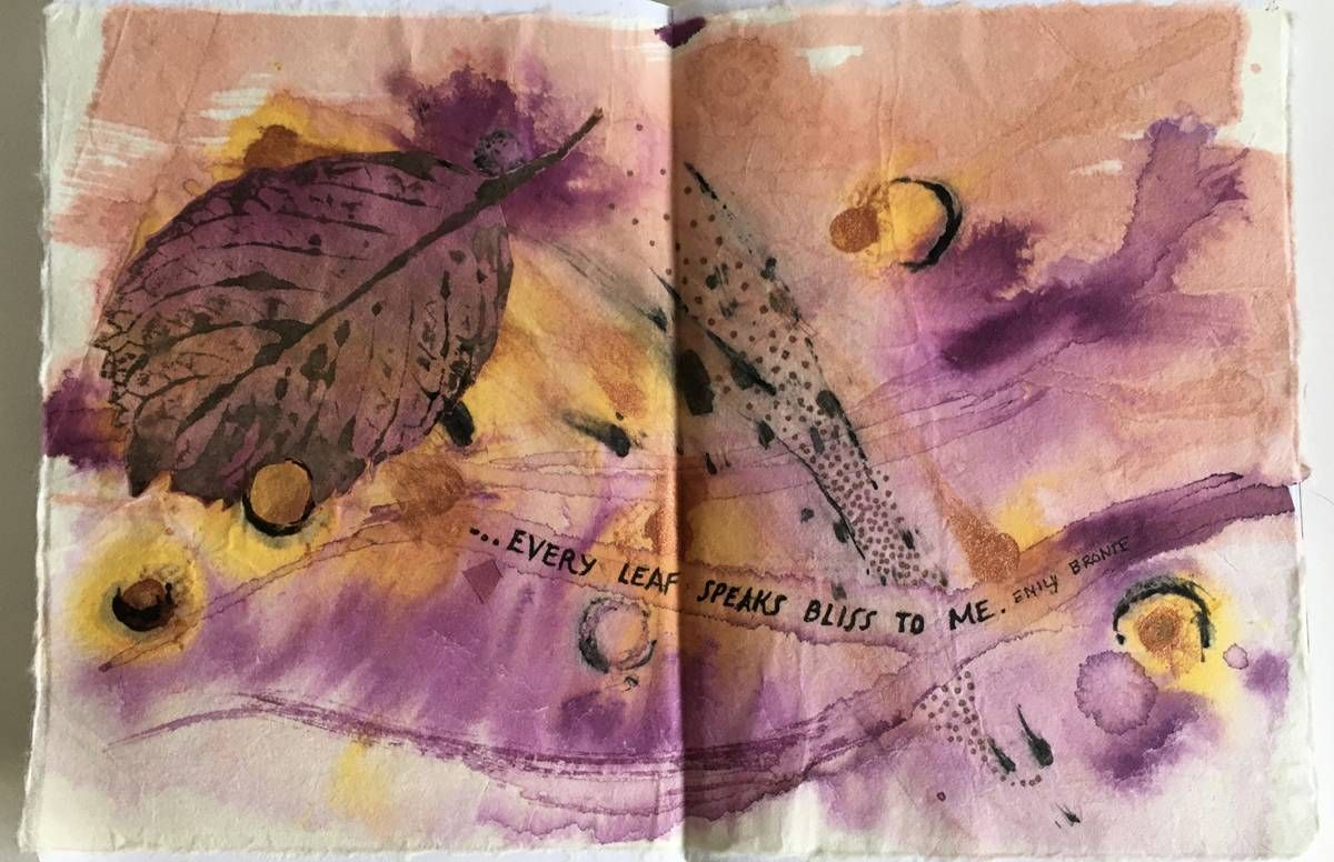 A page from Charlotte Hedlund's sketchbook