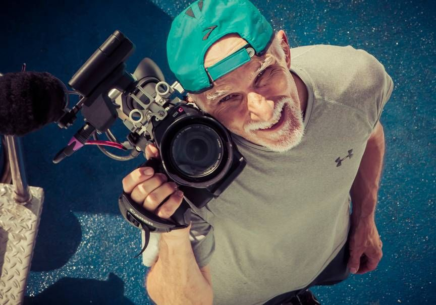 Mark Smith is a cinematographer, cyclist and racer
