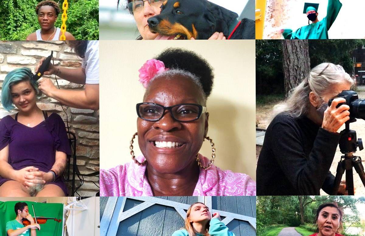 PBS Portrait collage