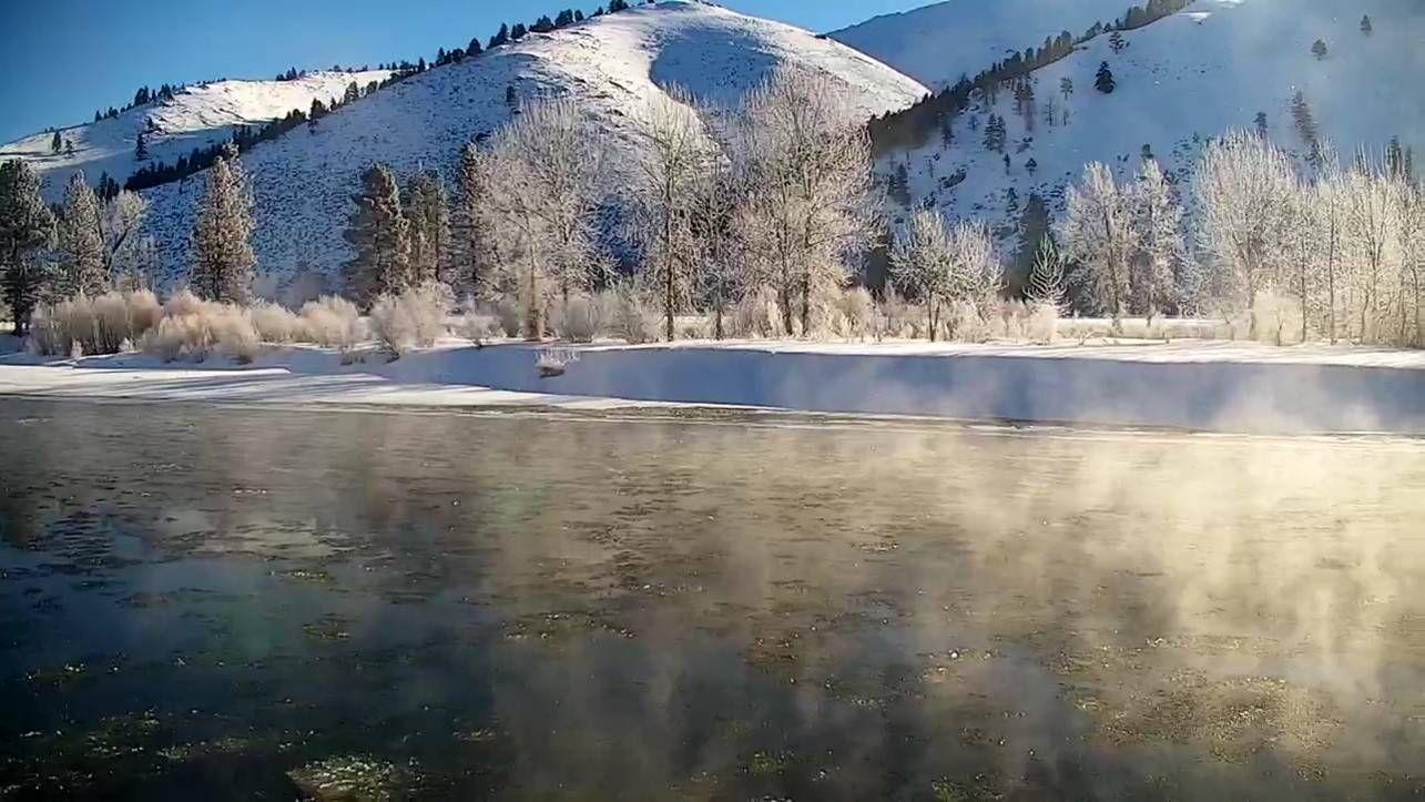 river winter