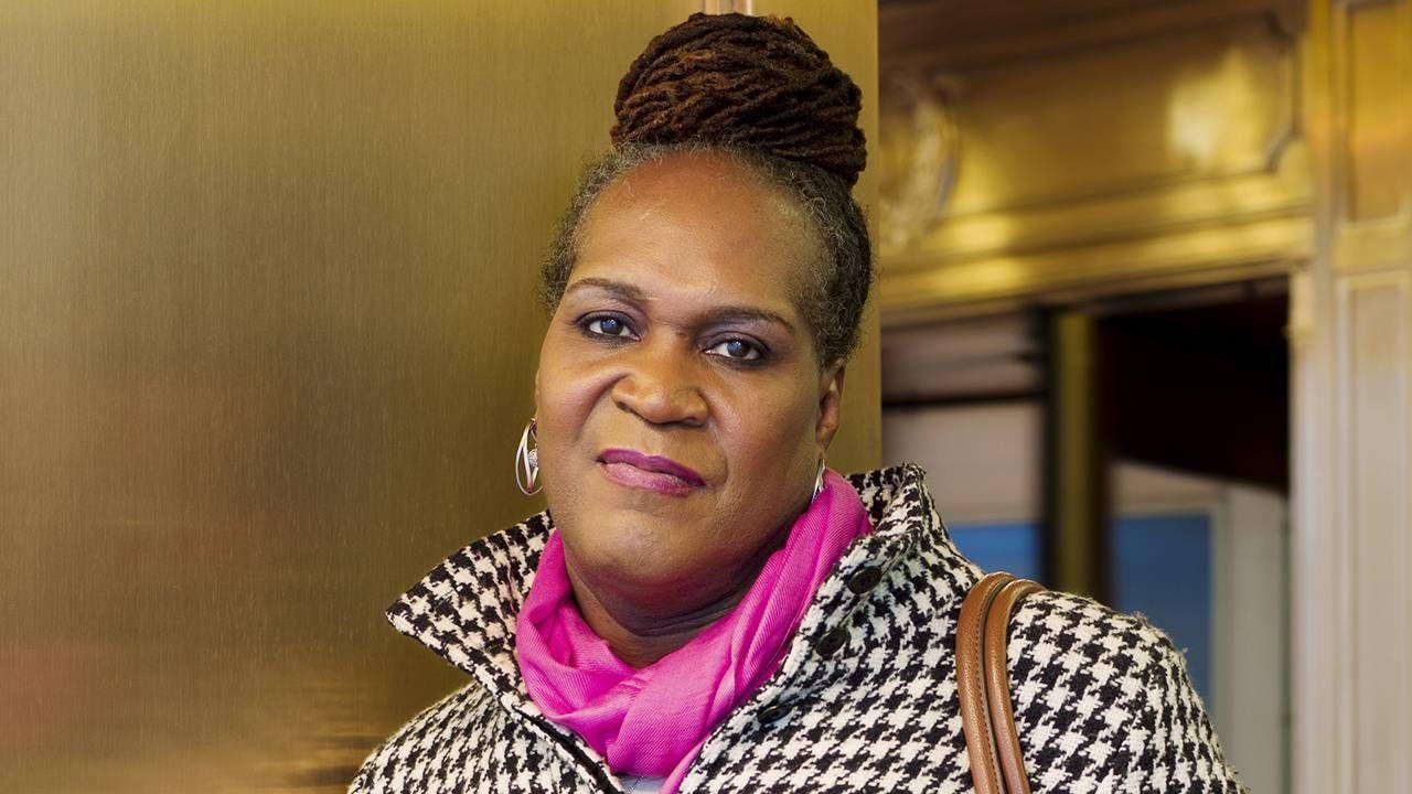 Andrea, 54, Minneapolis, exhibition portraits, transgender, art