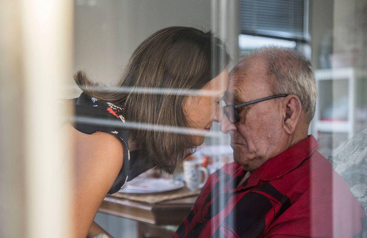 Dr. Poki'i Balaz with her father, John Balaz at their home in Aiea, Hawaii, caregiver, next avenue