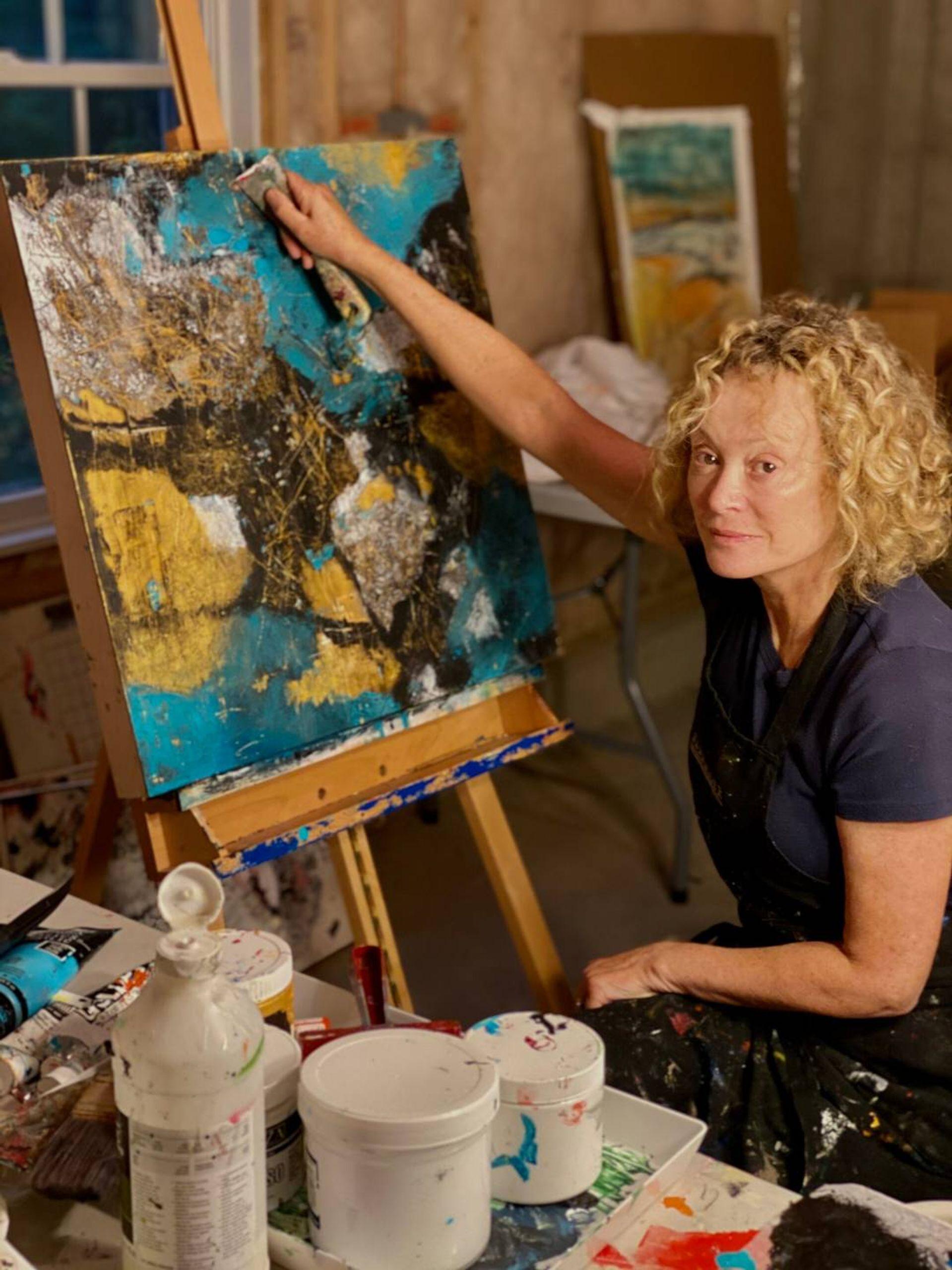 Artist Leslie Harris