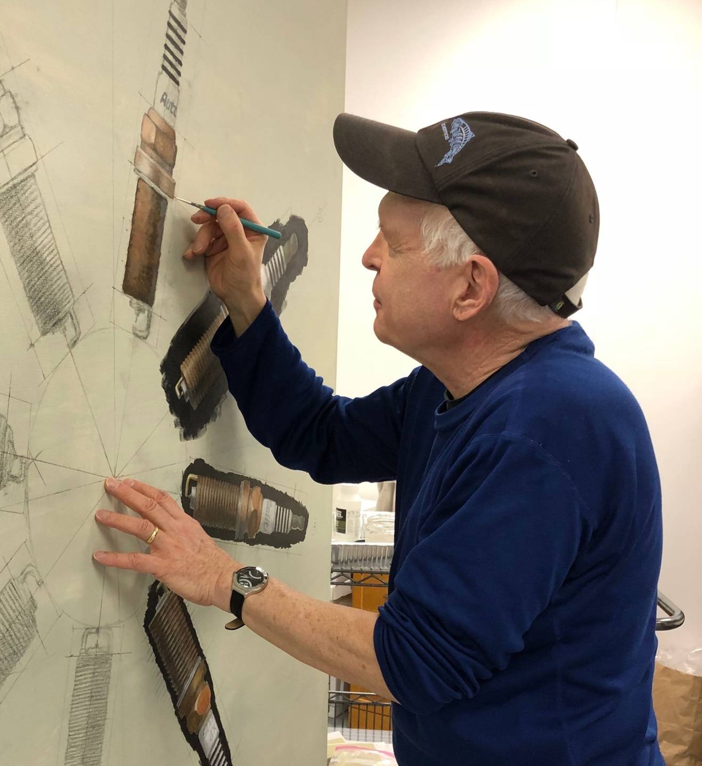 Artist Peter Swift