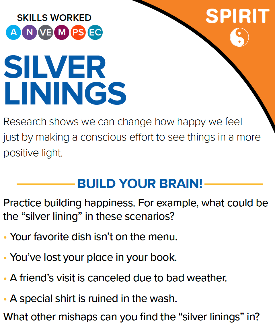 silver linings card, next avenue, brain health