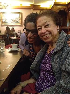 Author Yvonne and her mother Ramona before the COVID-19 pandemic and Ramona's health decline, Next Avenue, Alzheimer's