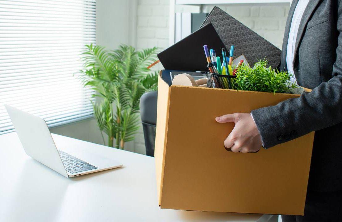 box of desk items, trusted professionals, retire, next avenue