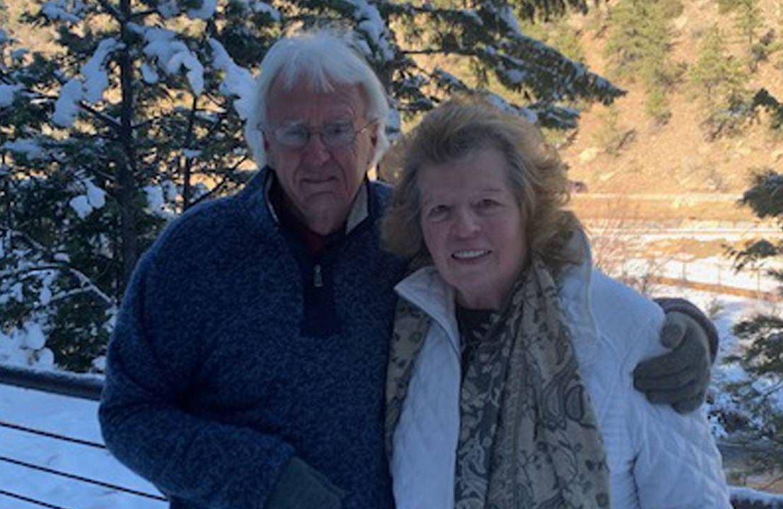 Bill and Eleanor Seavey on a November 2020 hike in the Colorado Rockies after his last treatment, bladder cancer, Next Avenue