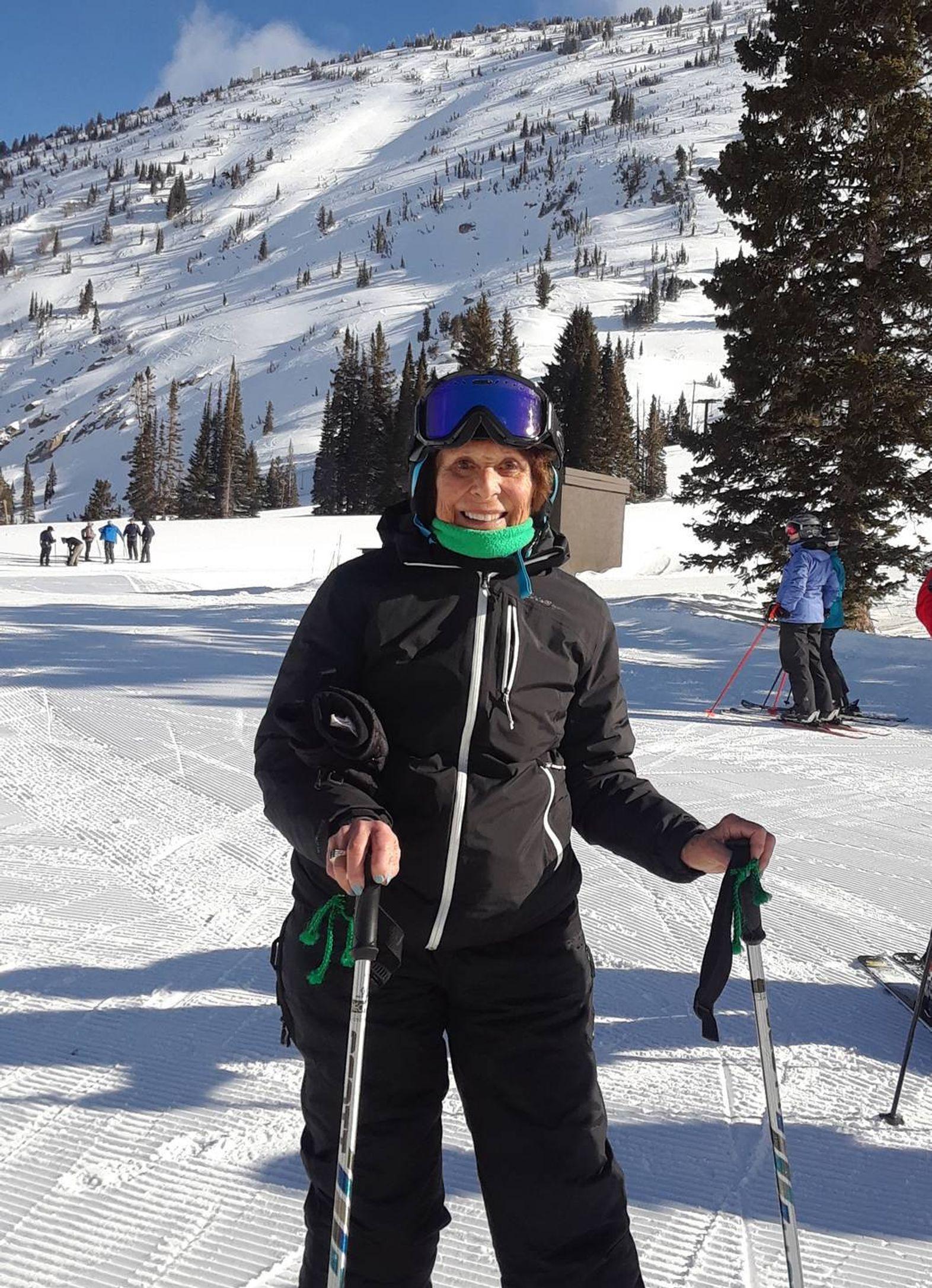 Eileen Fishkin of Marlborough, N.J., an avid downhill skier, Next Avenue, embrace joys of winter