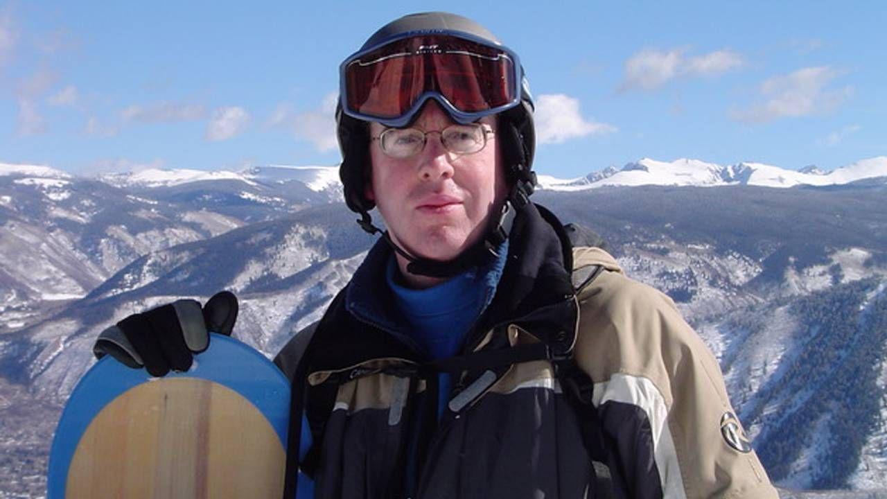 wo of John LaPlante of St. Paul, Minn. Photos of him snowboarding taken at Buttermilk Mountain, Aspen, Colorado, Next Avenue, embrace joys of winter