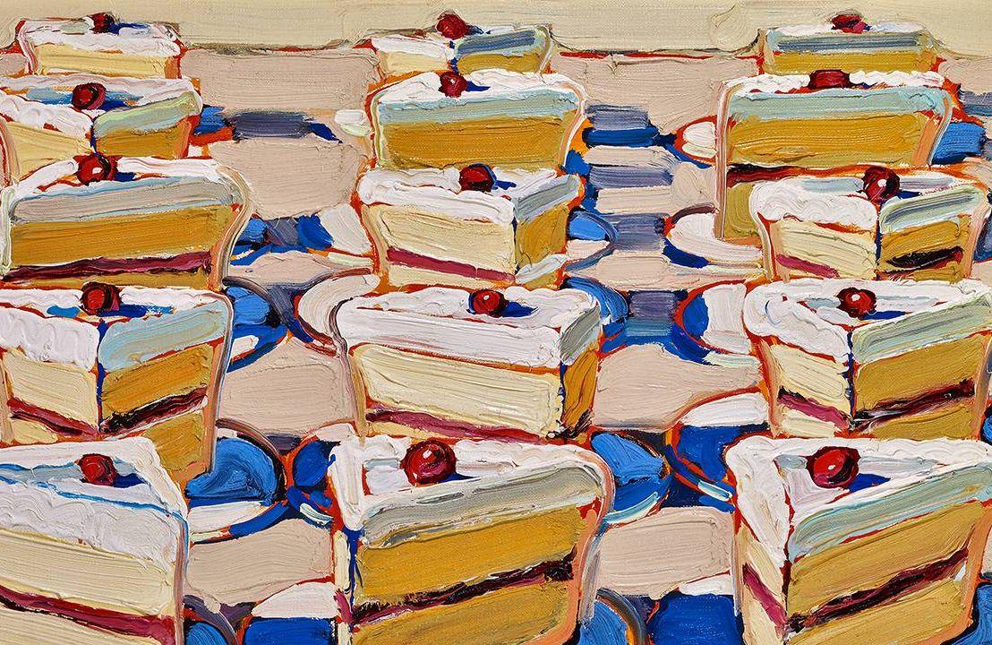 Painting by Wayne Thiebaud, Boston Cremes, Artist, Next Avenue