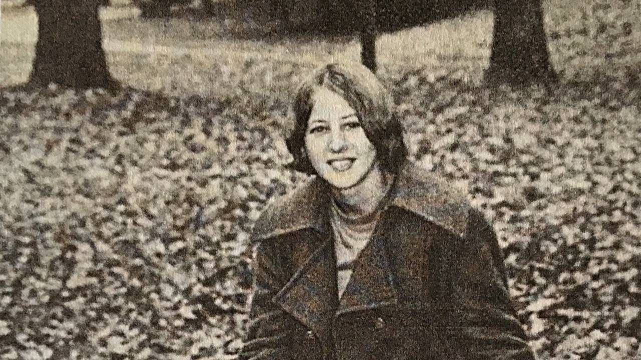 Old yearbook photo of a woman in college, reflection, Next Avenue