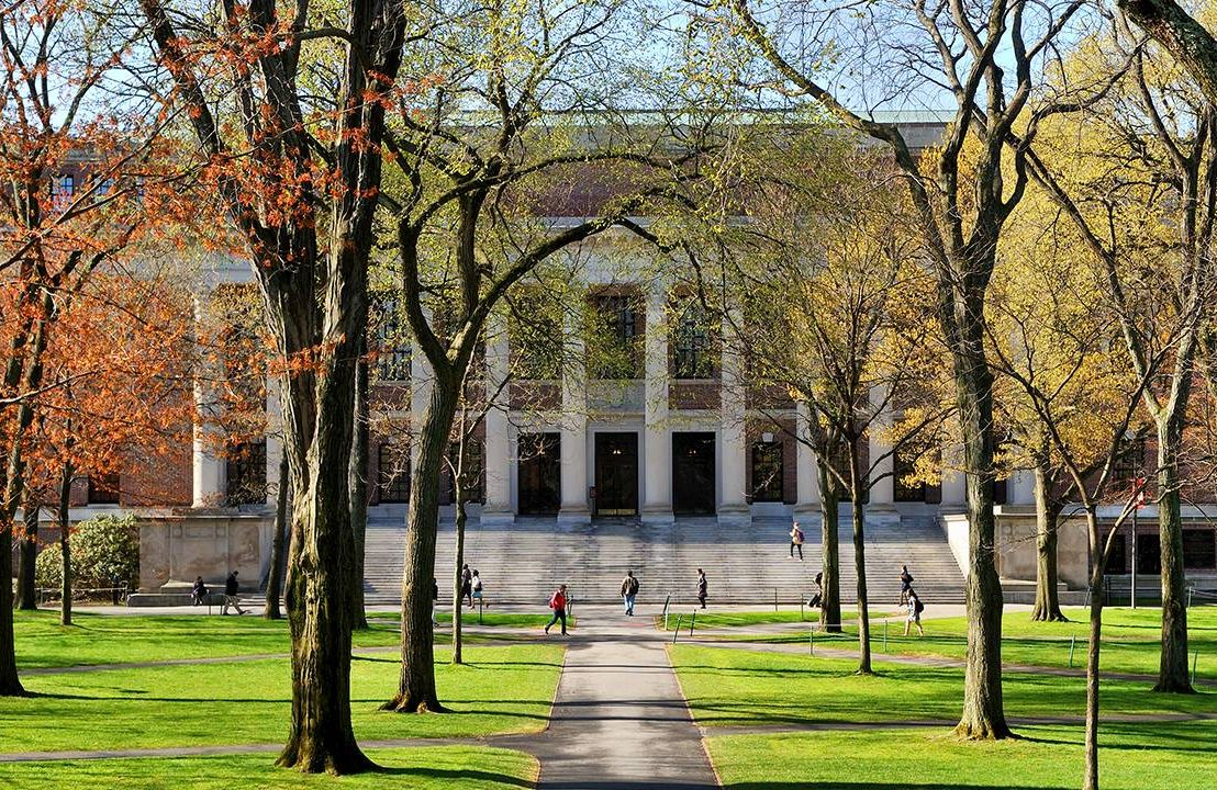Outside a college campus, paying for college, grandparents, Next Avenue
