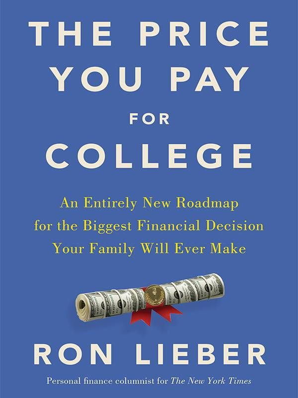 Book Cover, The Price You Pay for College