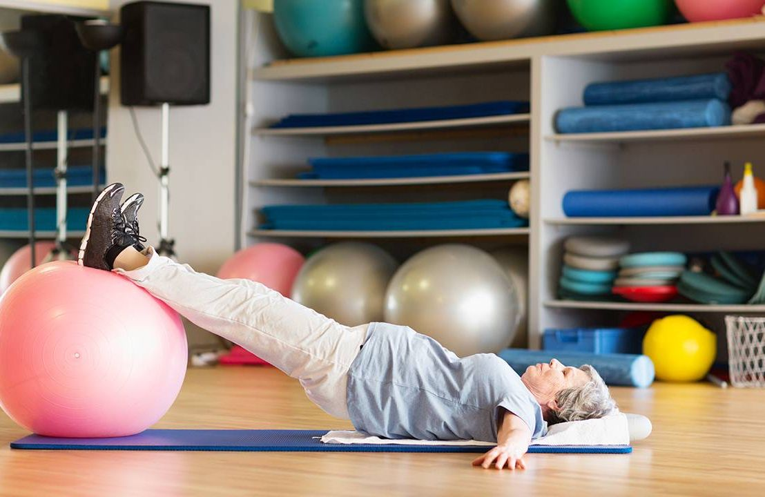 Woman doing pelvic floor exercise, pelvic pain, health and fitness, Next Avenue