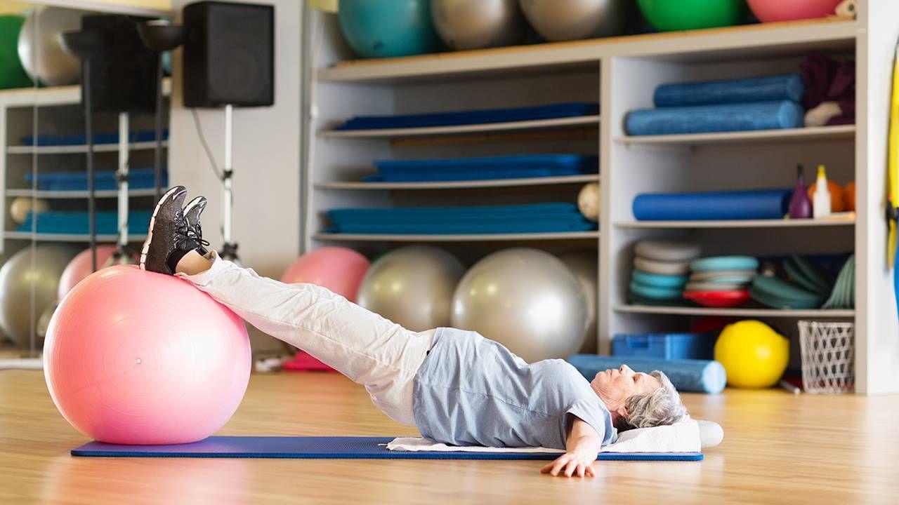 Woman doing pelvic floor exercise, pelvic pain, health and fitness, Next Avenue