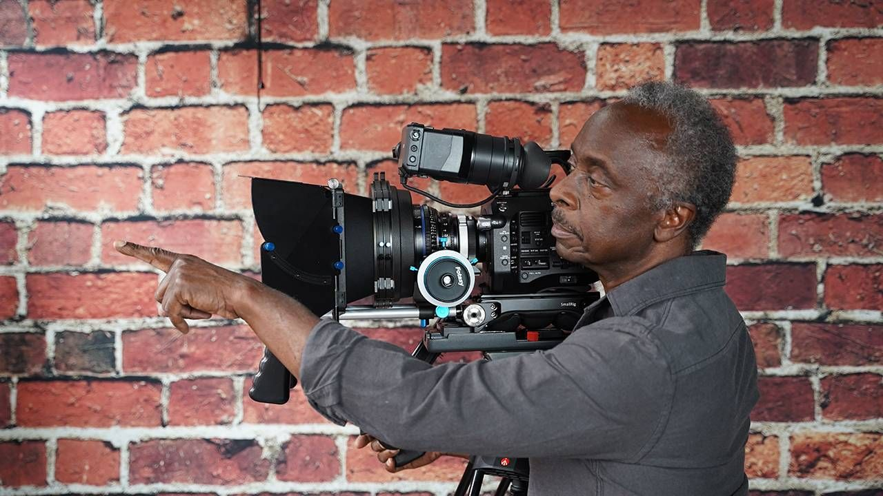 Man directing behind the camera, filmmaker, COVID-19 pandemic, Next Avenue
