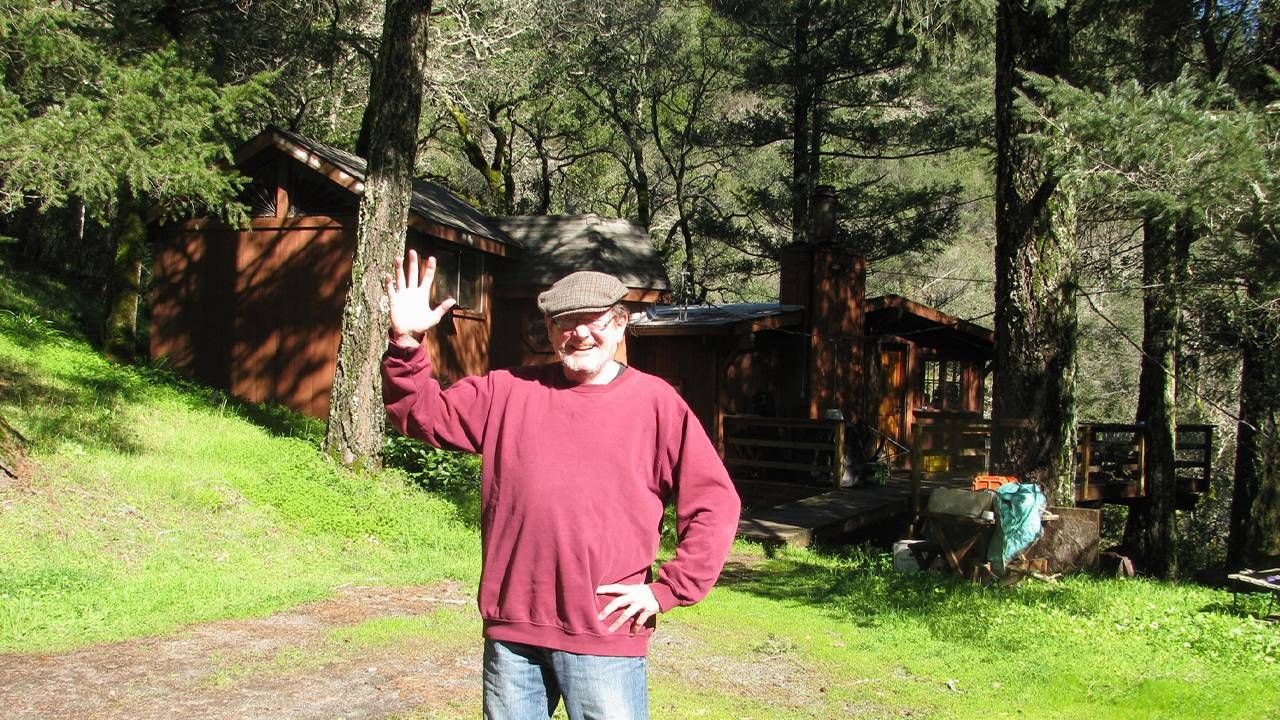 """Jay Gamel and his Adobe Canyon, Calif. """"paradise"""", Next Avenue, retirement bubbles, climate change"""