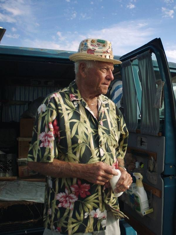 Documentary still of Dennis Dean, Next Avenue