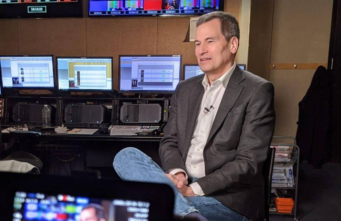 David Pogue sits for an interview, book, climate change, Next Avenue