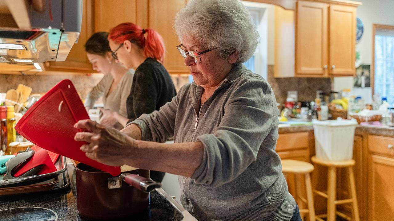 multigenerational family cooking together, ageism, Next Avenue