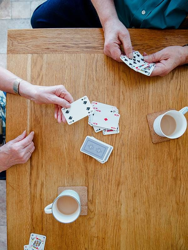 Playing card games, independent living, Next Avenue