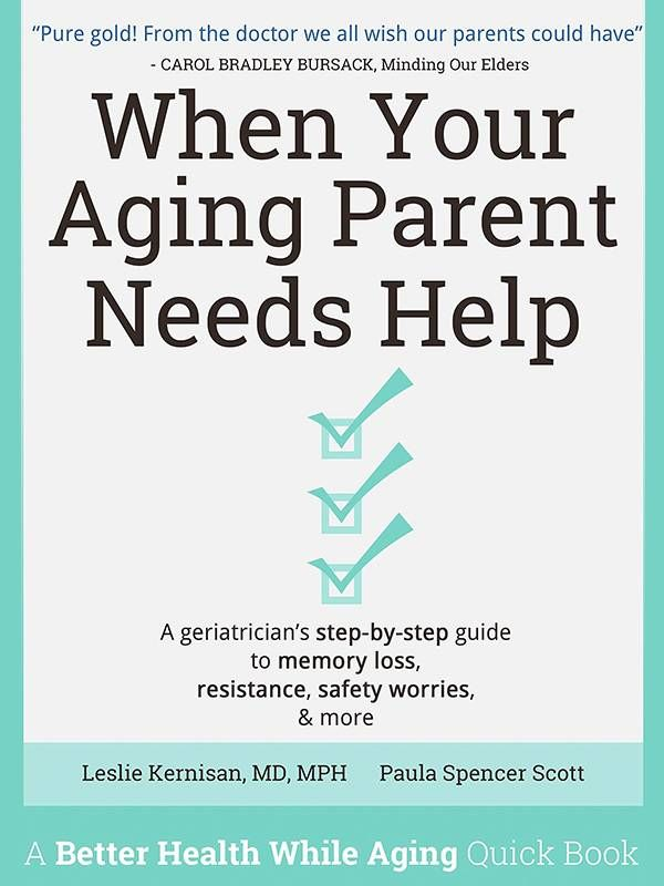 Book cover of When Your Aging Parent Needs Help, caregiver, Next Avenue