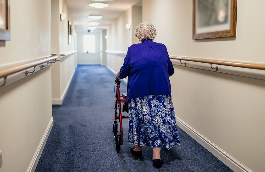 Older adult in long-term care facility, Next Avenue