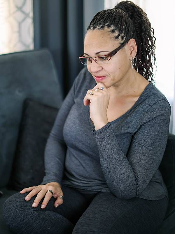 woman sitting on couch, home business, entrepreneur, Next Avenue