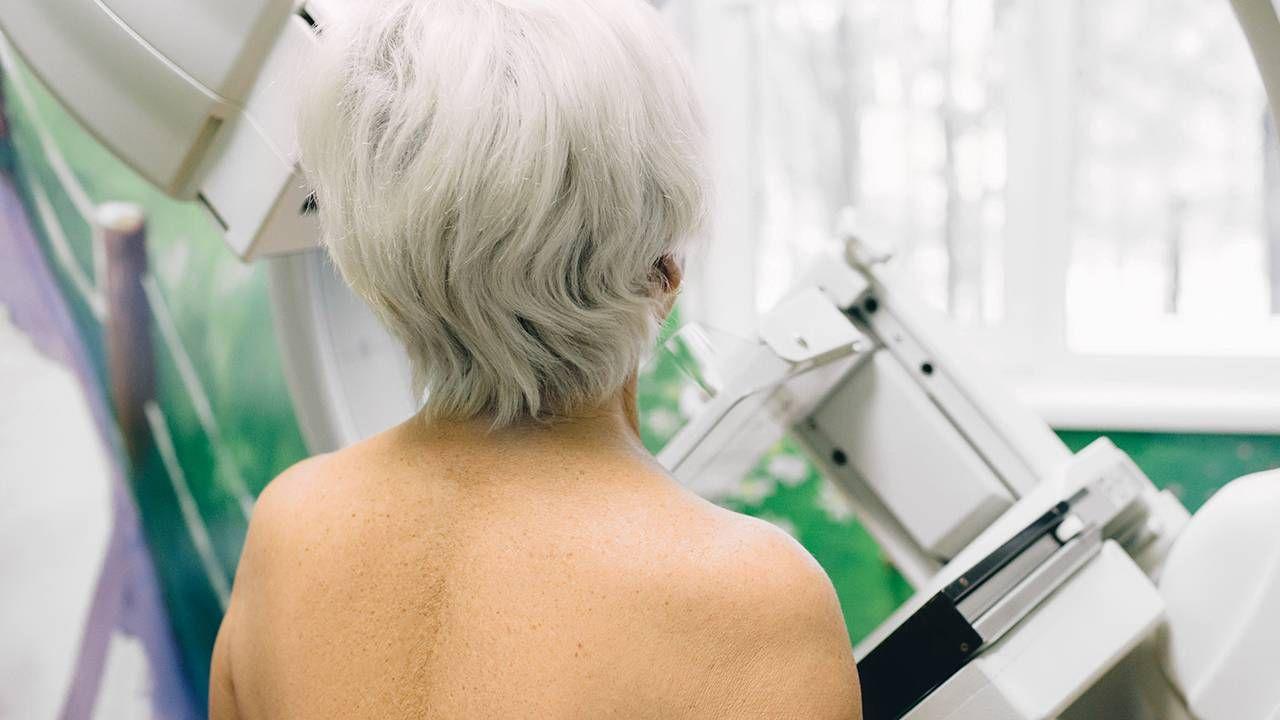 Older woman getting a mammogram, cancer, screening, Next Avenue
