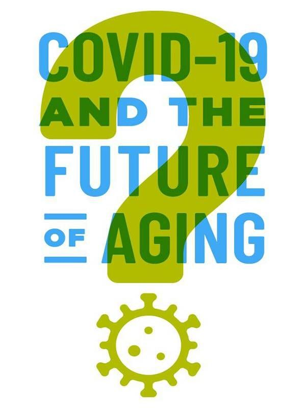COVID-19 and future of aging illustration, our future, COVID-19 pandemic, Next Avenue