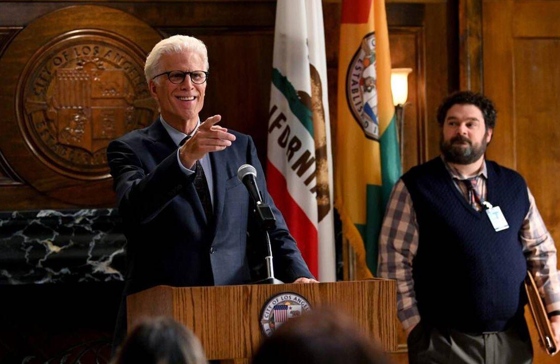 Actors on set for TV show Mr. Mayor, aging, older people, popular culture, Next Avenue