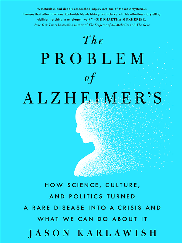The Problem of Alzheimer's book cover, dementia, Next Avenue
