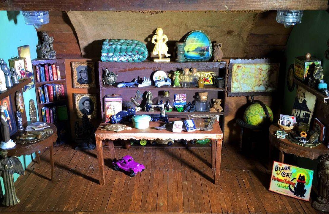 A miniature antique shop with Tony antiques, pandemic projects, pastimes, Next Avenue