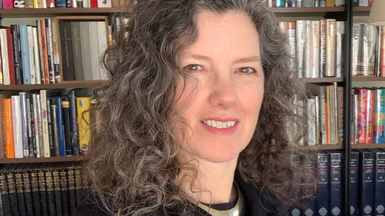close up of author with curly grey hair, ageism, Next Avenue