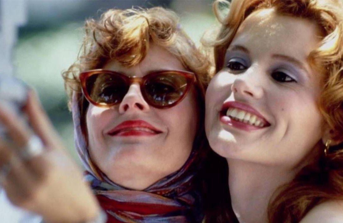 Geena Davis and Susan Sarandon in Thelma and Louise. Next Avenue