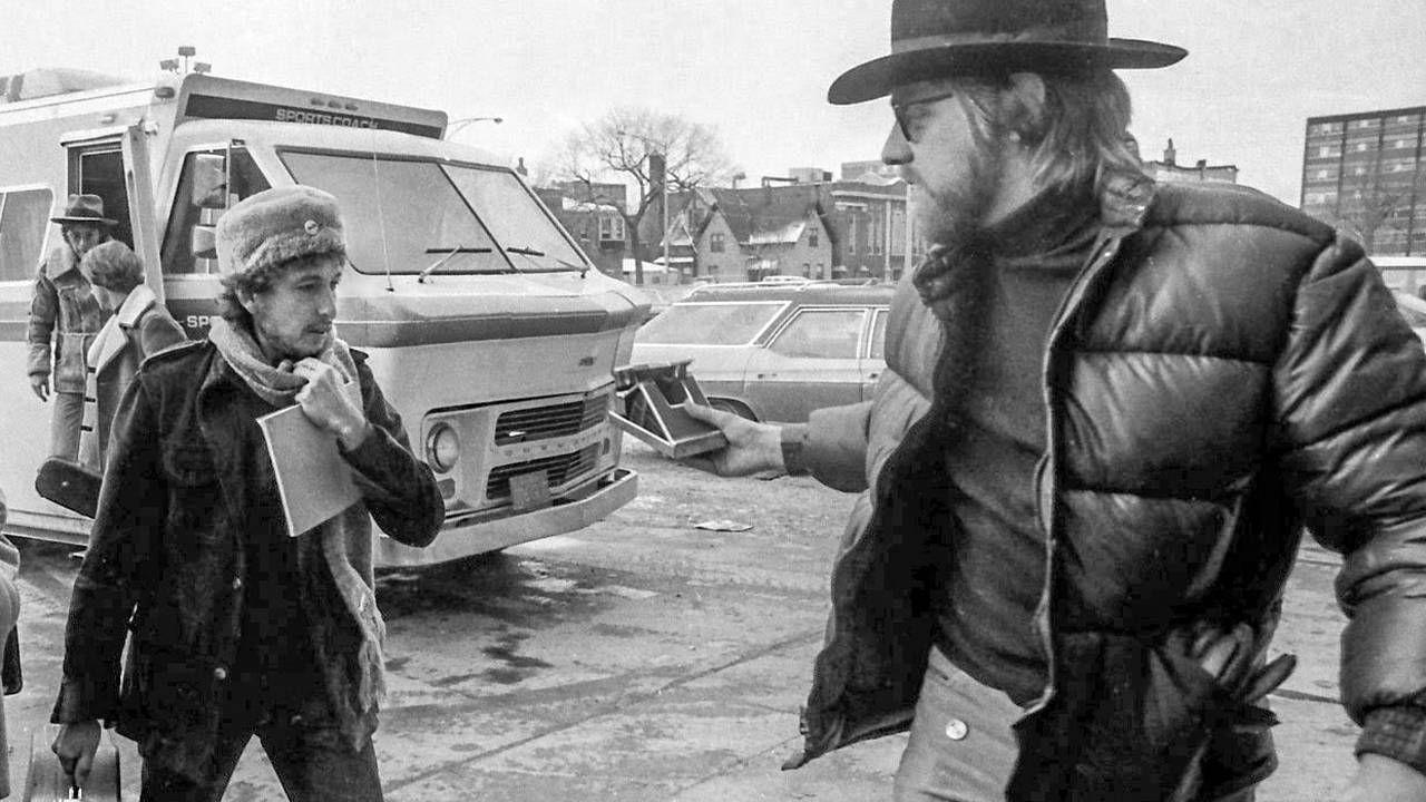 An old photo of Jonathan Taplin taking Bob Dylan. Next Avenue