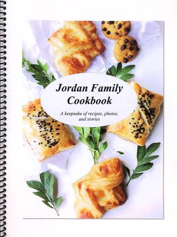Cover of the family's cookbook. Family, cookbook, recipes, Next Avenue