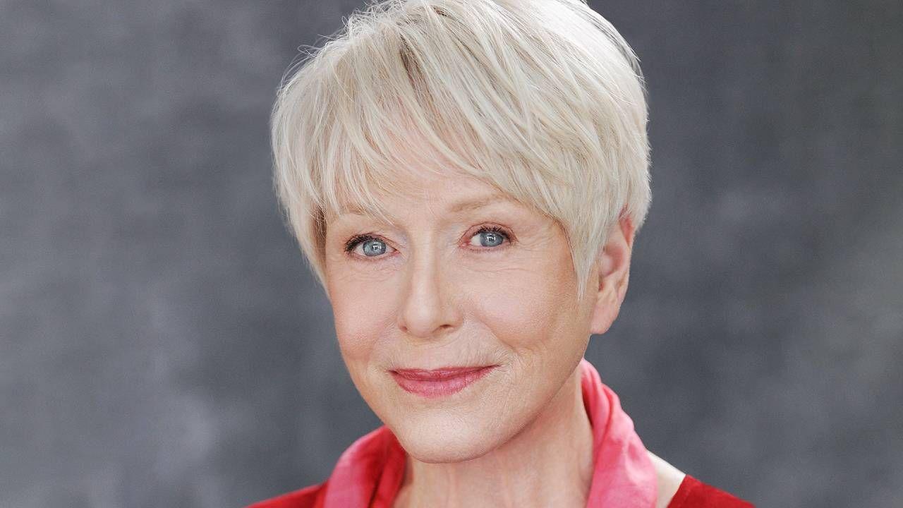 Actor/writer Karen Grassle smiling wearing a red shirt. Mammogram, Karen Grassle, Next Avenue