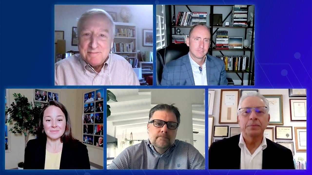 Group shot of the virtual conference. Next Avenue, aging, covid-19
