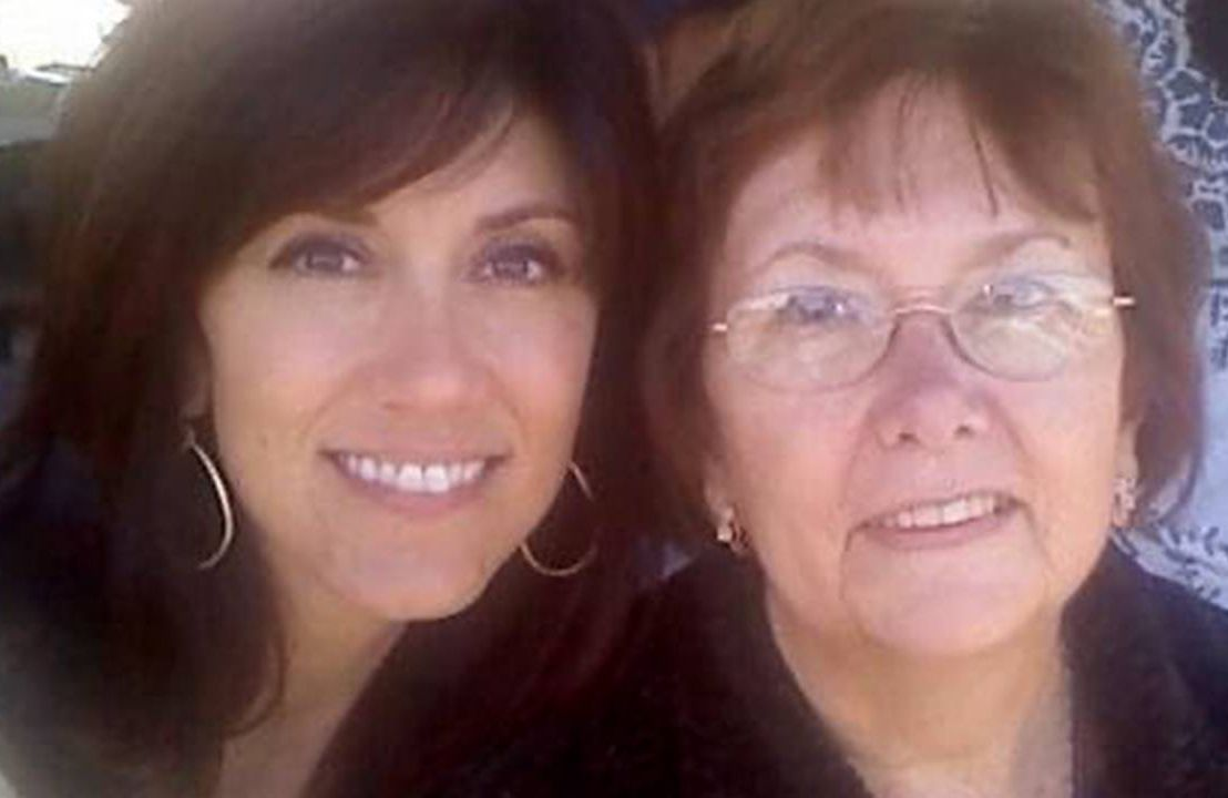 A mother and daughter smiling together. Alzheimer's, dementia, Next Avenue