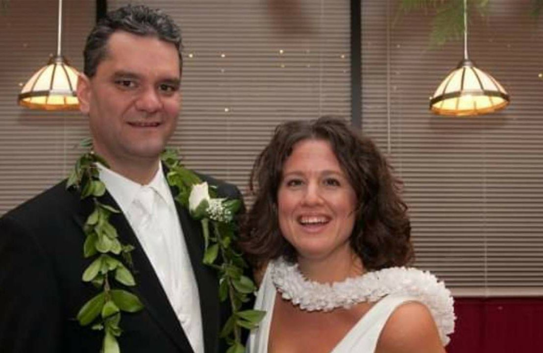 A couple smiling during their wedding day. Health care, health insurance, Next Avenue