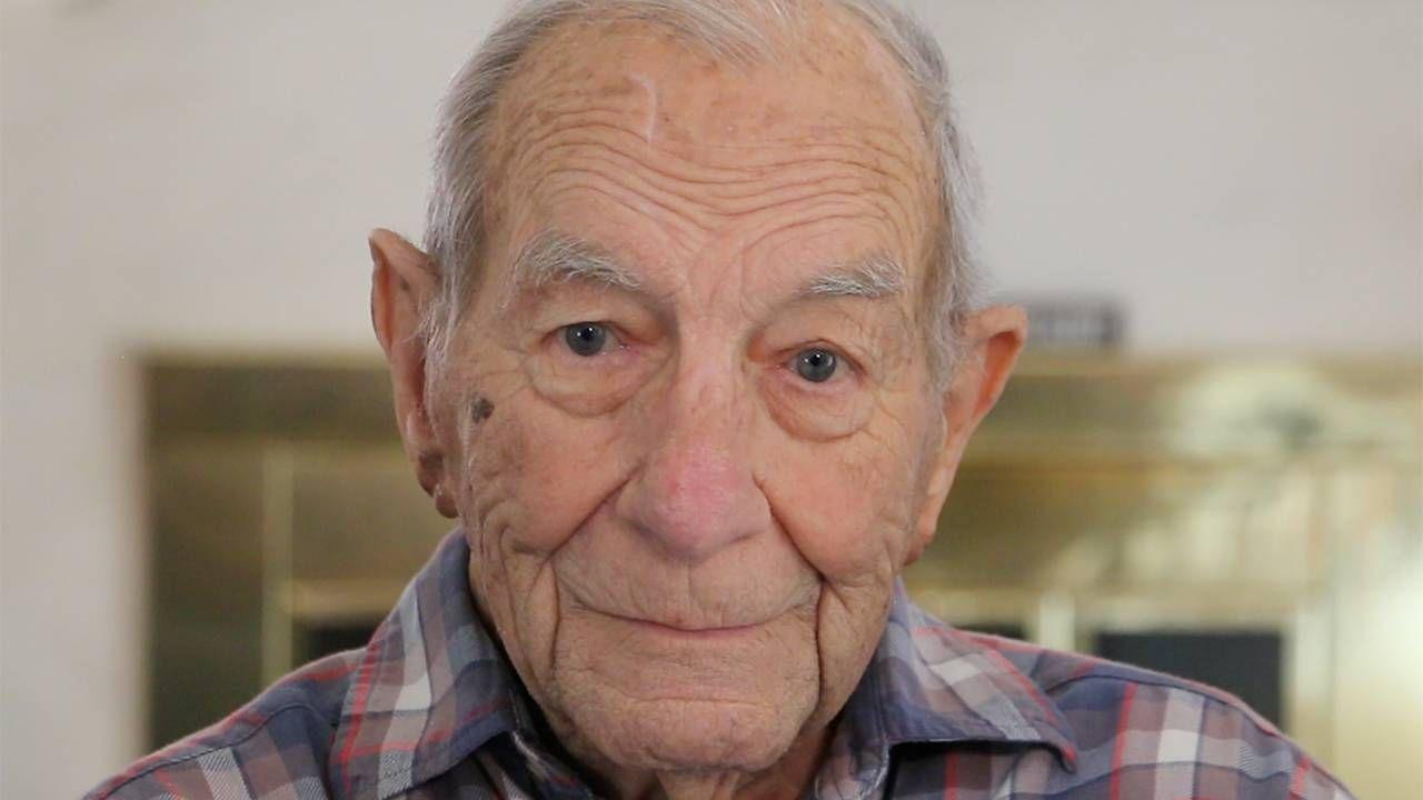 A closeup of an older man, smiling. Life, friendship, Next Avenue