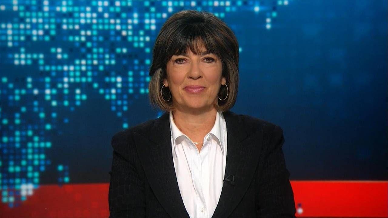 PBS anchor, Christiane Amanpour sitting at the anchor desk. Ovarian cancer, Next Avenue
